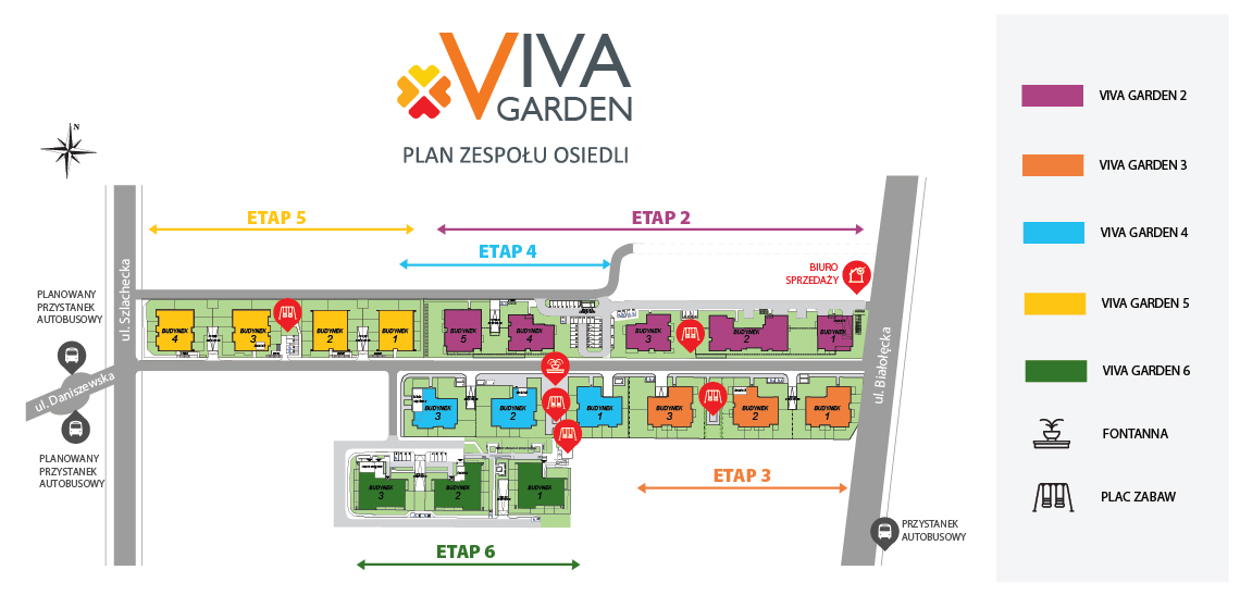 Viva Garden etap 5 i 6
